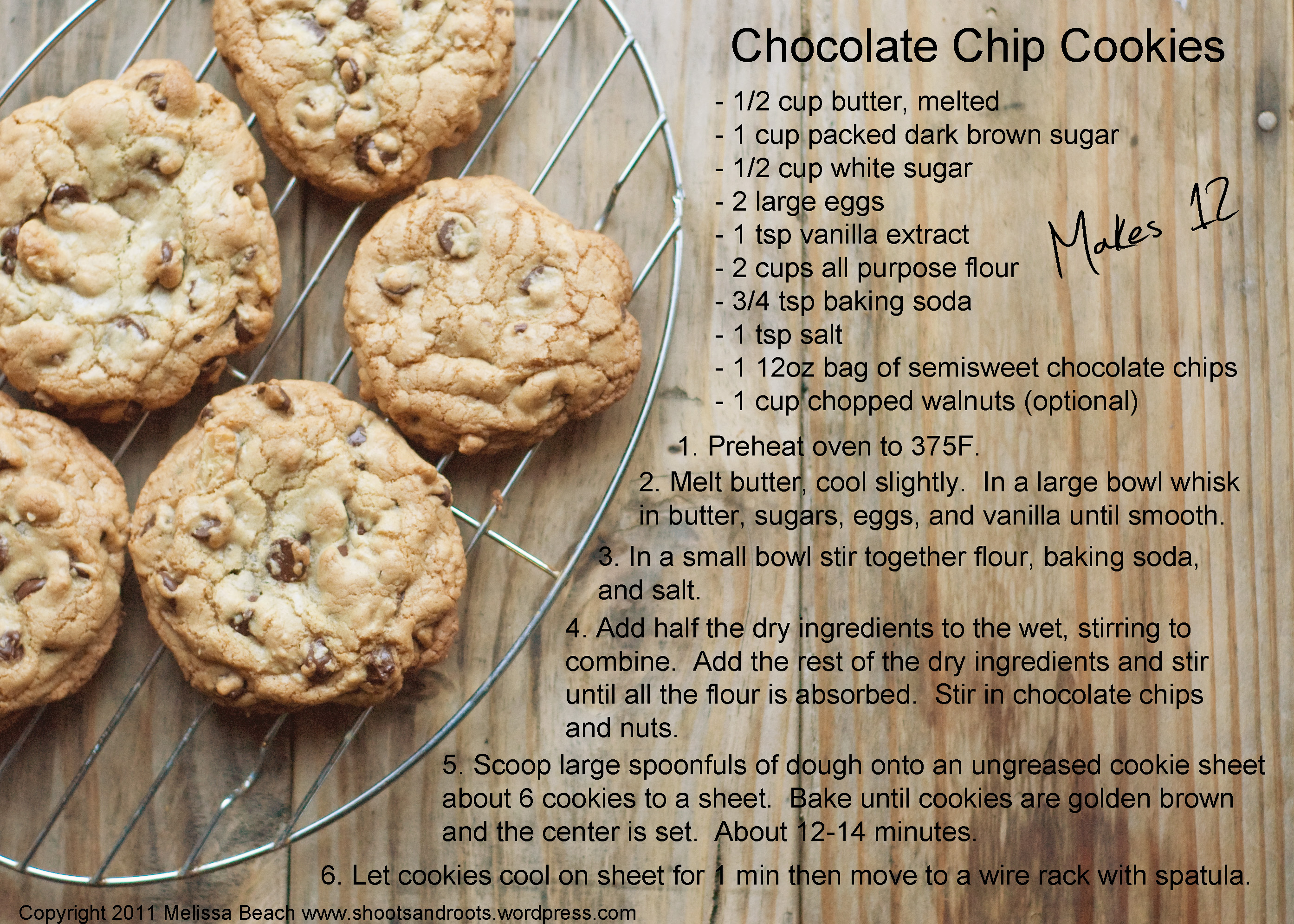 essay on how to make chocolate chip cookies Hey guys, my name is michelle, and today i am going to demonstrate how to  make america's beloved chocolate chip cookies it's christmas time and what  better.