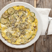 Eggs and Zucchini - A Summer Breakfast