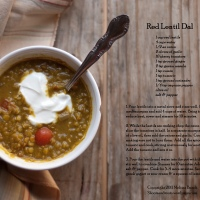 Red Lentil Dal - For When Your Sick