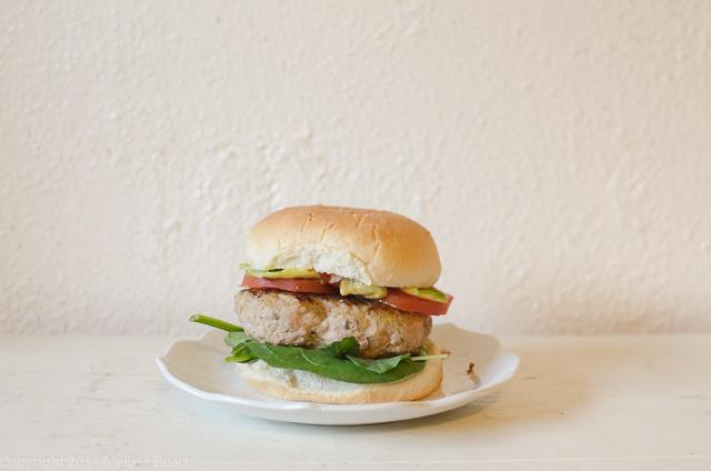 Roasted Broccoli and Turkey Burgers on my NewBlog