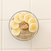 Chia Seed Puddings - Caramel Latte & Nut Butter Banana